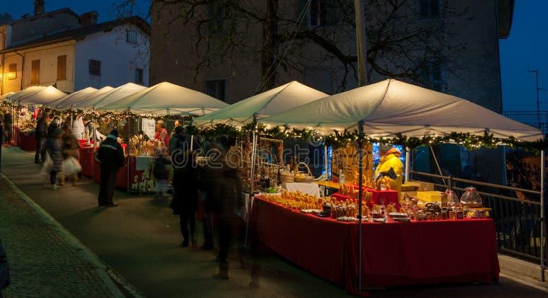 Julmarknader royaltyfri bild