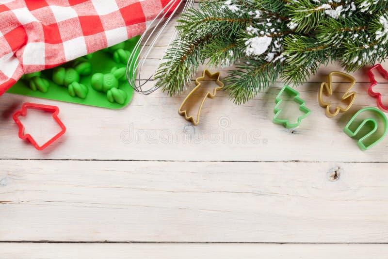Julmatlagningredskap fotografering för bildbyråer