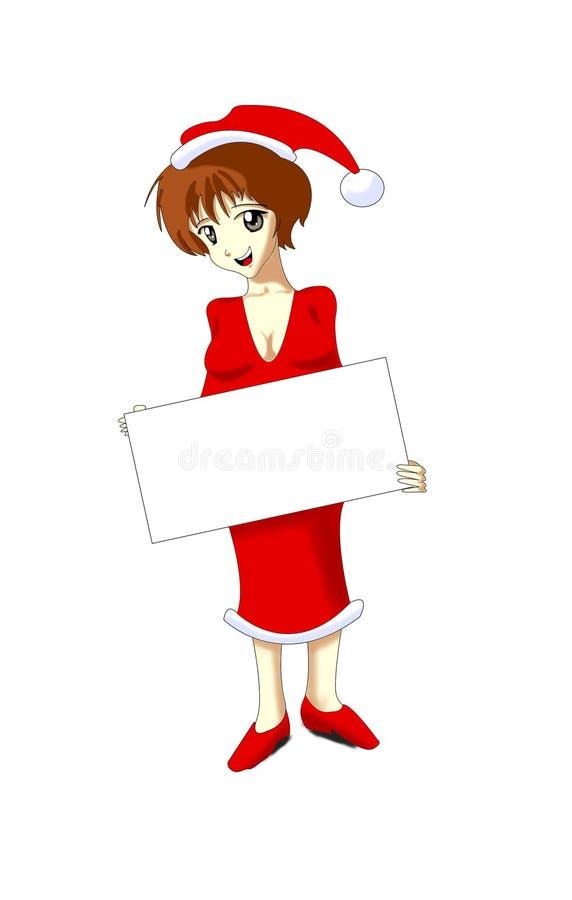 julmoder vektor illustrationer