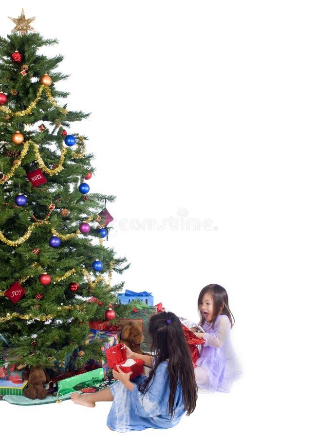 julmorgon arkivbild