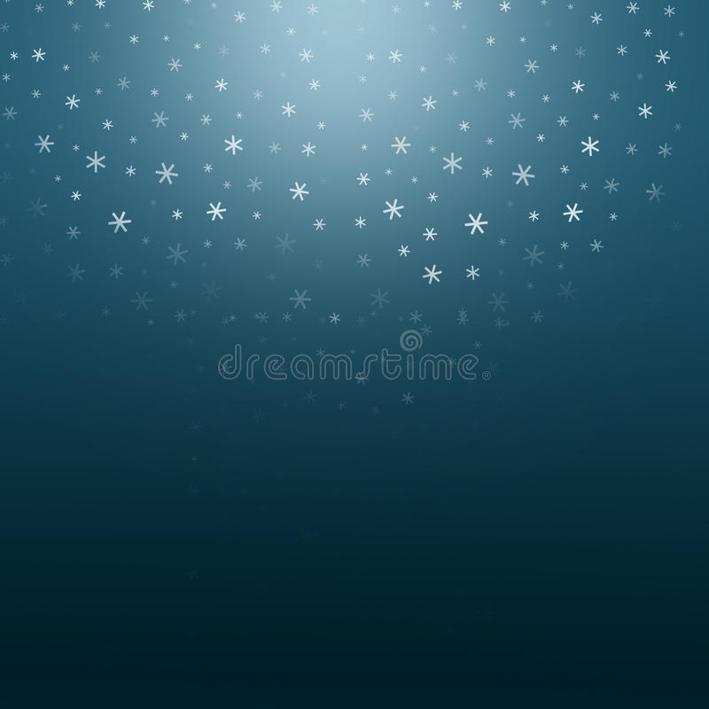 Julnattbakgrund stock illustrationer