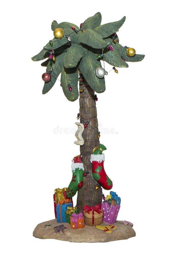 Julpalmträd arkivbilder