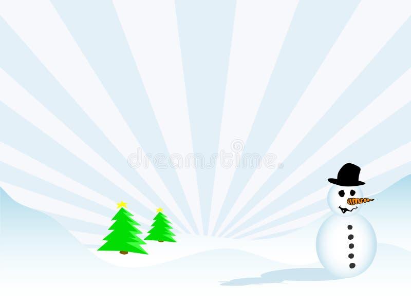 Download Julplats vektor illustrationer. Illustration av ferie, snowflake - 284299