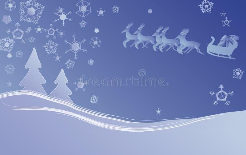 Julplatsvinter Arkivfoton