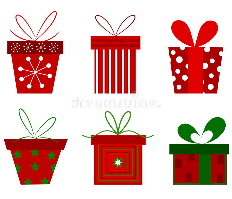 julpresents stock illustrationer