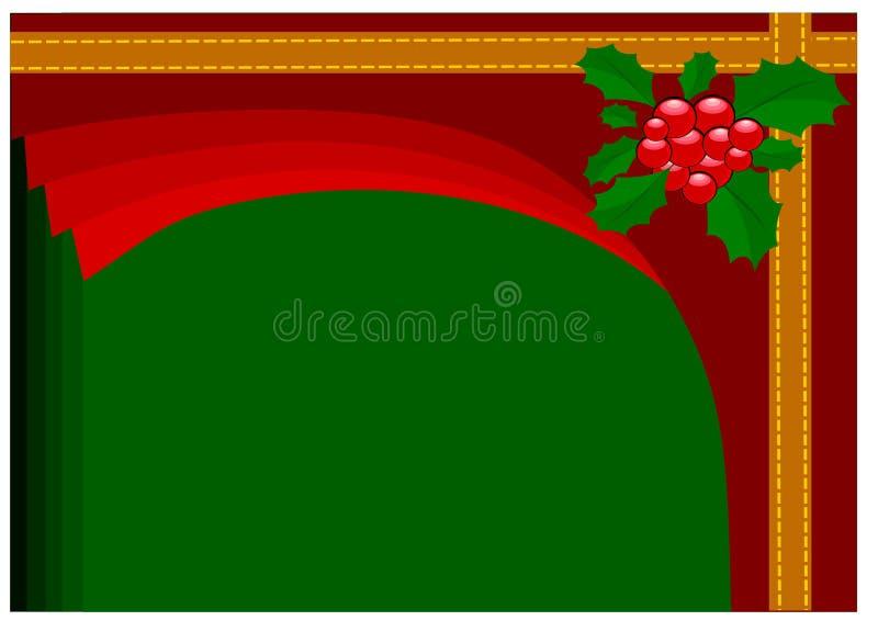 Julpyntillustrationbakgrund vektor illustrationer