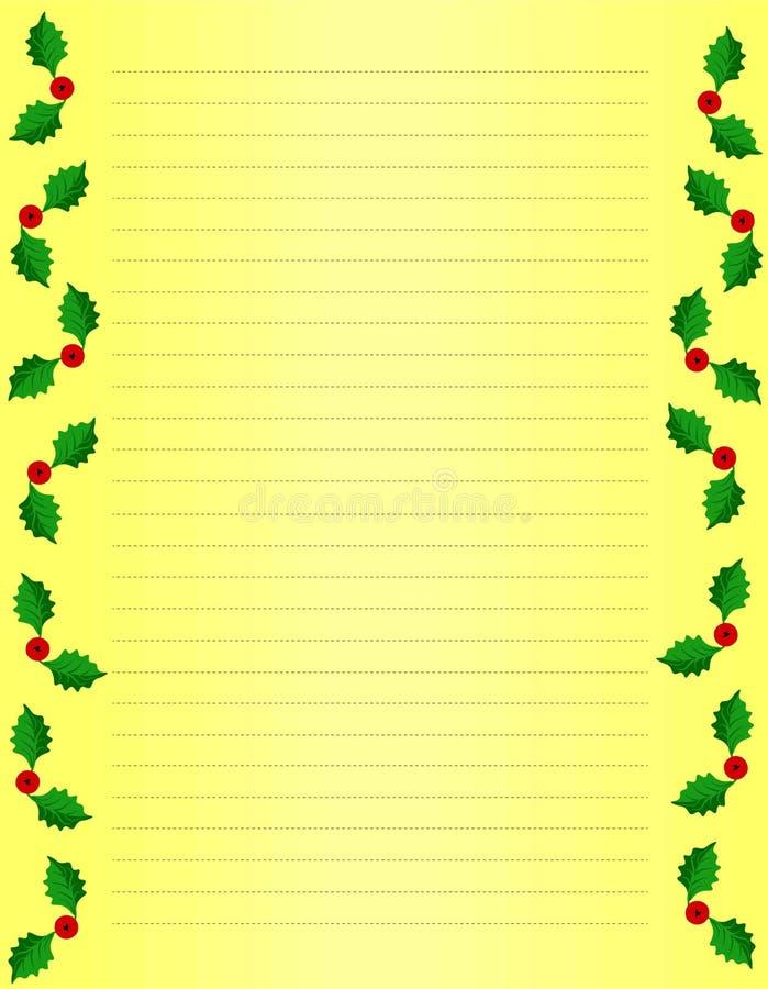 Julramdesign med järneksidor royaltyfria bilder