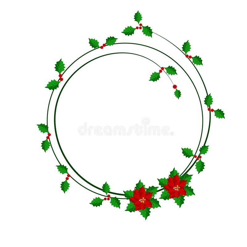Julramdesign med järneksidor royaltyfri fotografi
