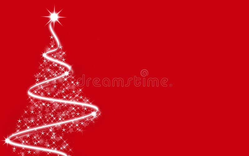julredtree royaltyfri foto