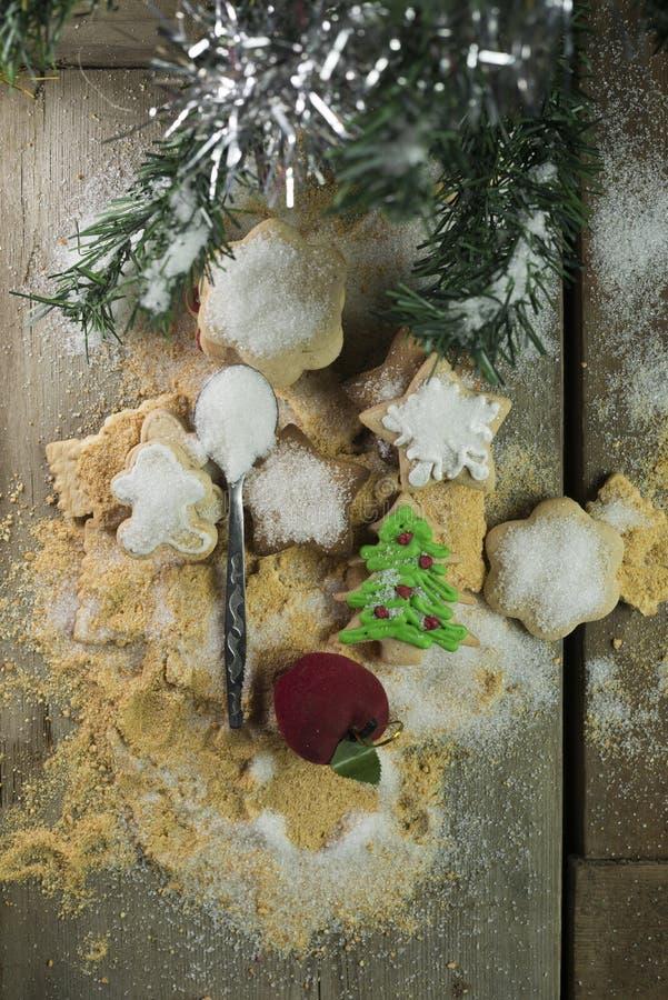 Julsötsak och lynne royaltyfria foton