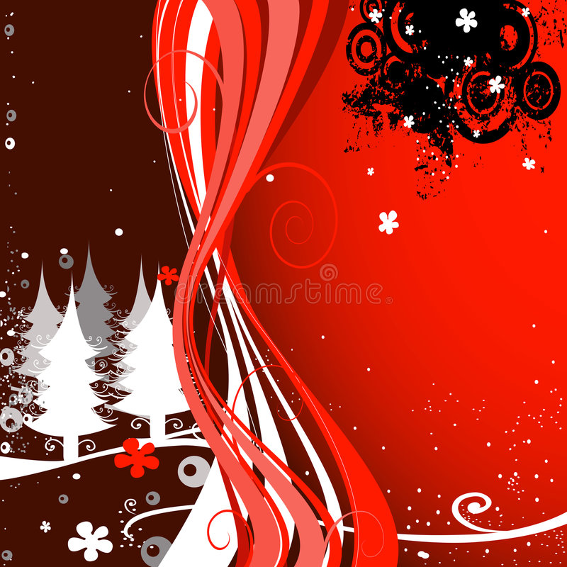 julsammansättning royaltyfri illustrationer