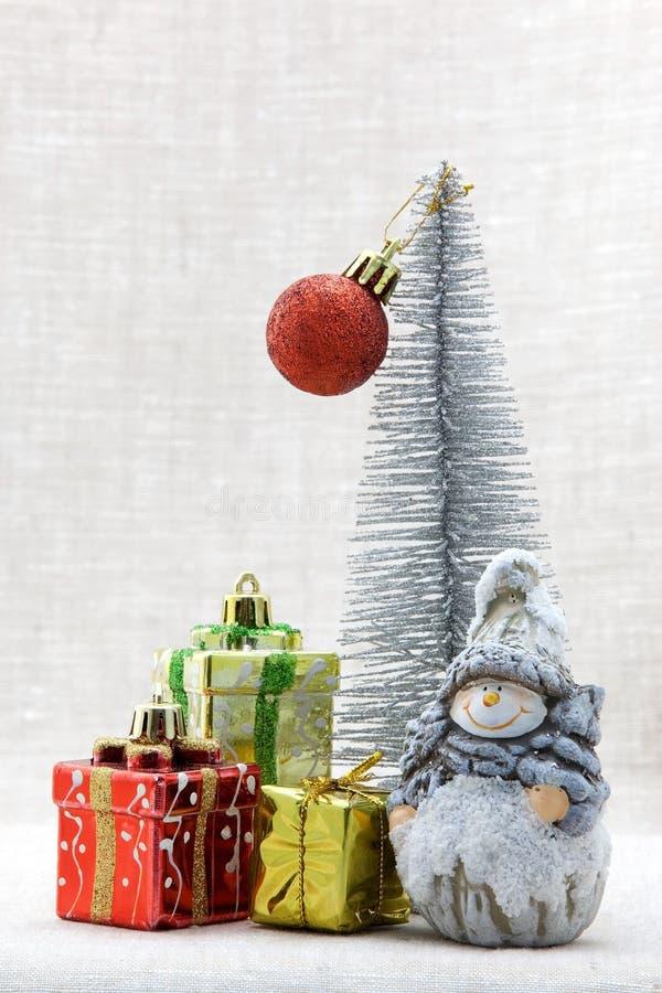 Julsammansättning royaltyfri bild