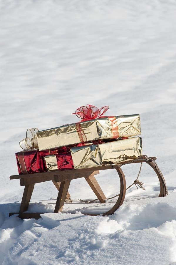 Download Julsled arkivfoto. Bild av fritid, skog, semestrar, natur - 27282820