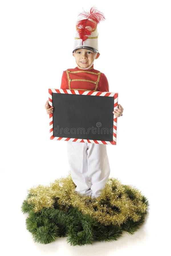 Download Julsoldat meddelande fotografering för bildbyråer. Bild av soldat - 27286009