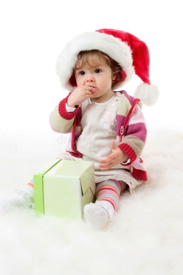 julstående arkivbild