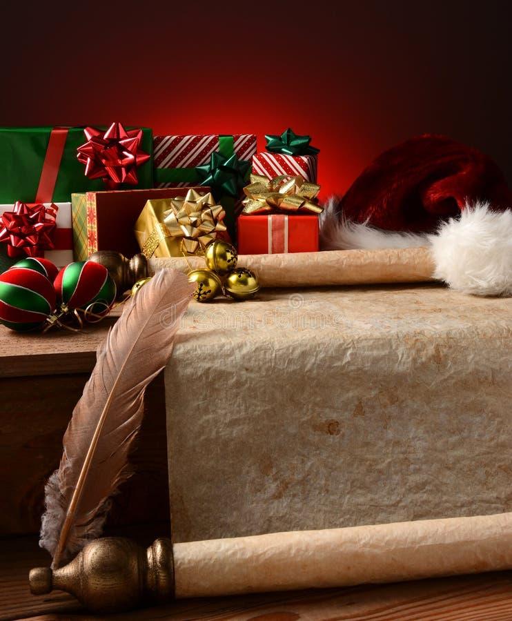 Julstilleben fotografering för bildbyråer