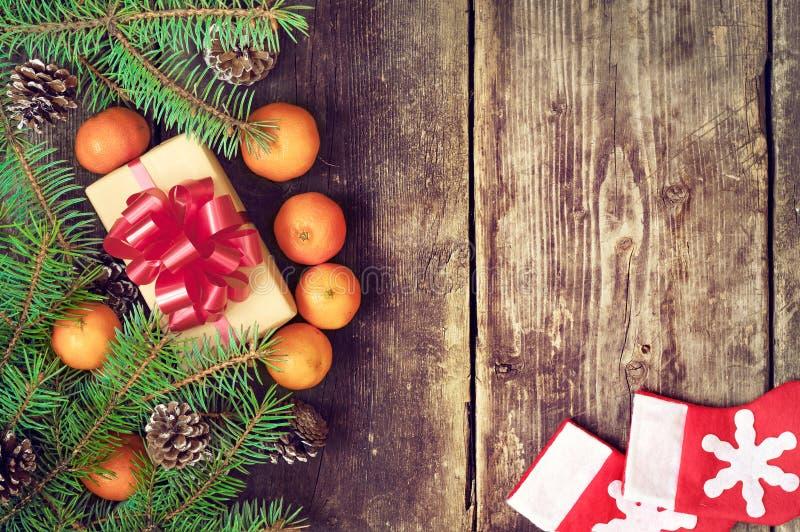 Jultappningbakgrunder royaltyfri bild
