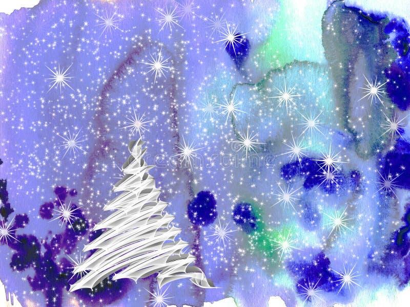 Jultid royaltyfri illustrationer