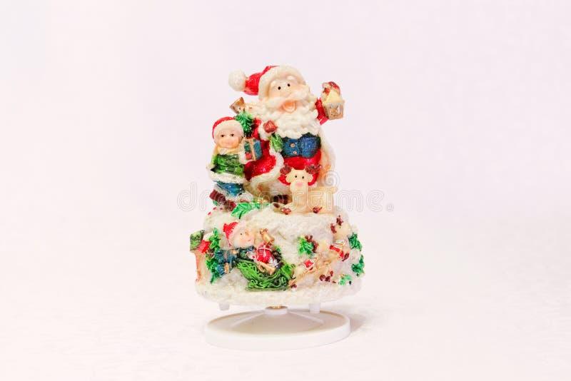 Jultomte toy arkivbilder