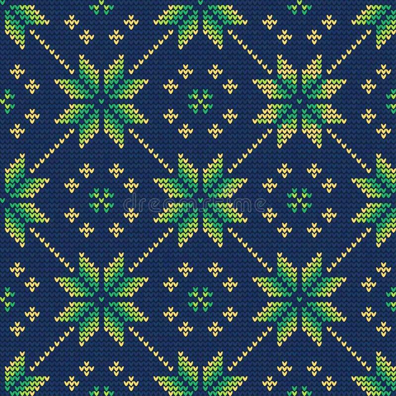 Jultröja Pattern9 vektor illustrationer