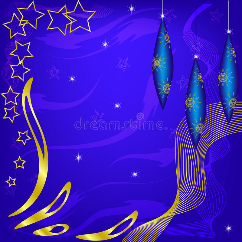Julvektorbakgrund royaltyfri illustrationer