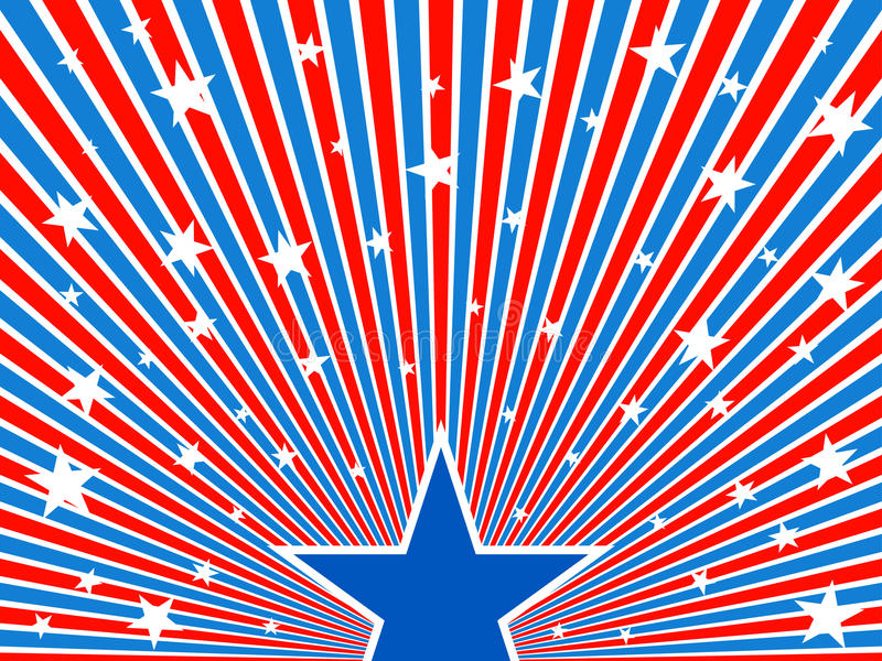 Download July 4th background. stock vector. Image of pattern, blue - 25724873