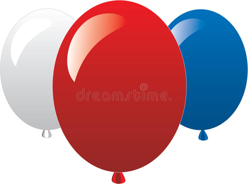 July 4th Icons stock illustration