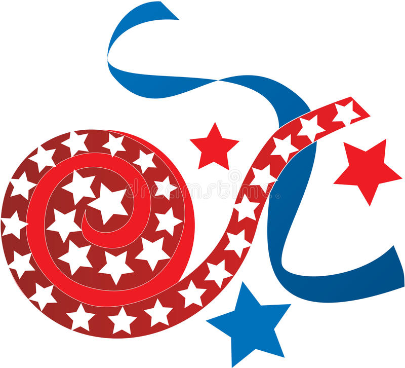 July 4th Icons vector illustration