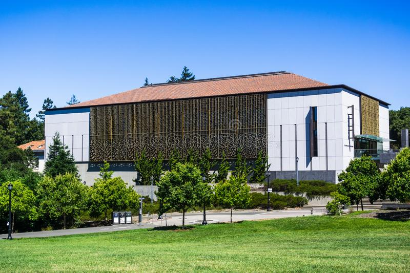 July 13, 2019 Berkeley / CA / USA - C. V. Starr East Asian Library the largest of its kind in the United States with over 1. Million volumes building in the royalty free stock photos