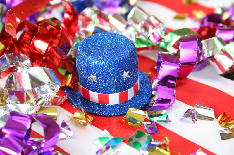 July Fourth royalty free stock photo