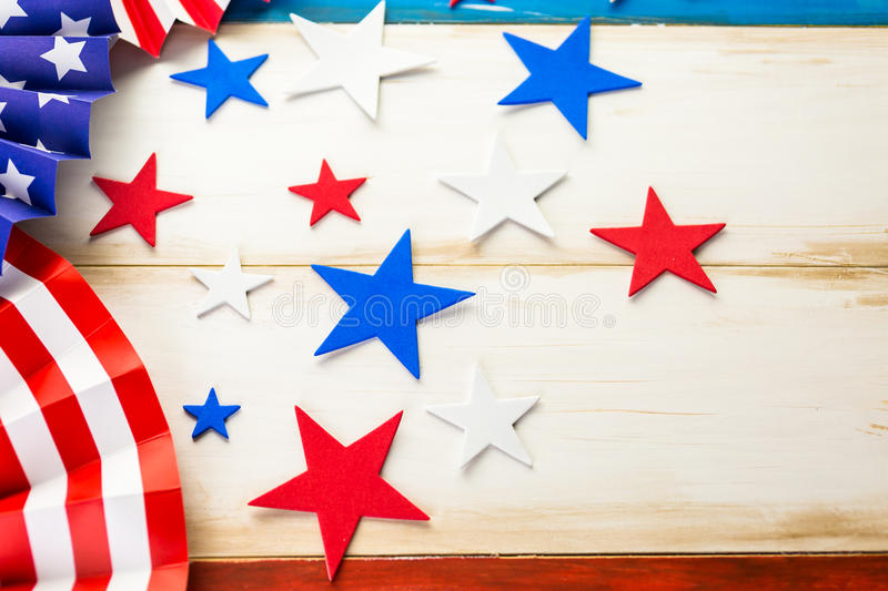 July fourth royalty free stock photos
