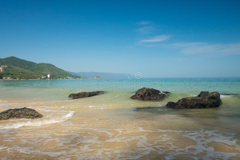 Summer Morning at Punta Negra Beach stock photos