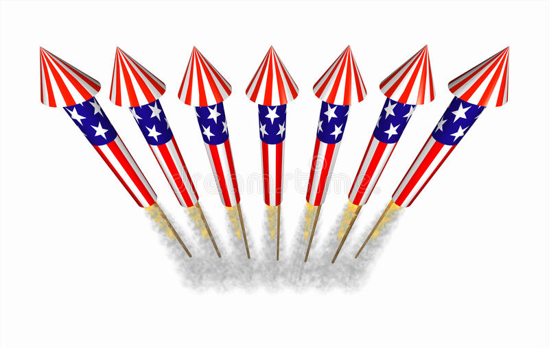 july 4th bottle rocket fireworks in flight stock happy fourth of july fireworks clipart 4th of July Clip Art