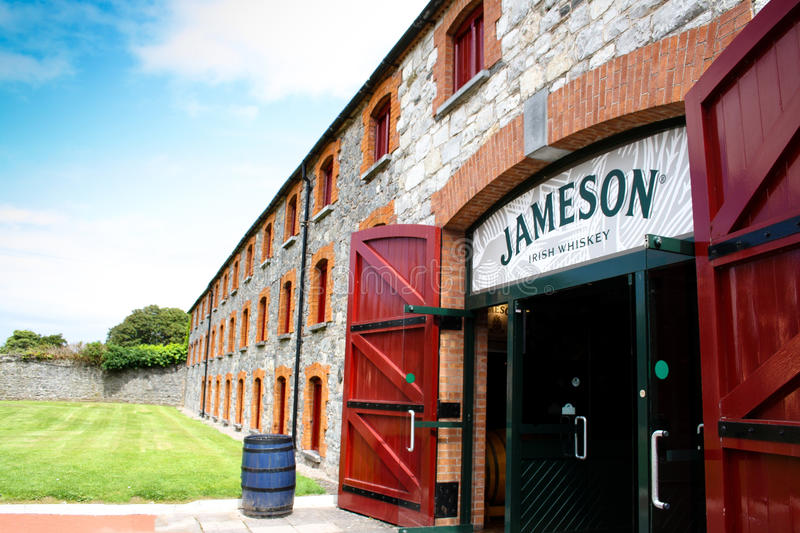 July 28th, 2011, Distillers Walk, Midleton, Co Cork, Ireland - Jameson Experience stock photo