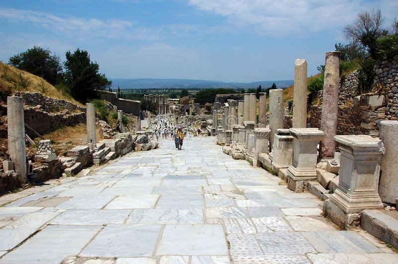 July 27, 2008. Turkey. Bodrum. Architecture and attractions! Historical monuments, archaeological excavations. royalty free stock photos