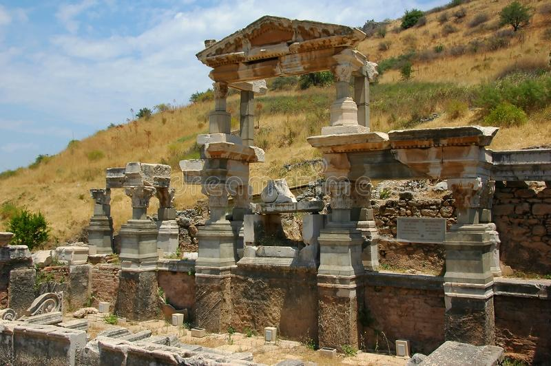 July 27, 2008. Turkey. Bodrum. Architecture and attractions! Historical monuments, archaeological excavations. royalty free stock images