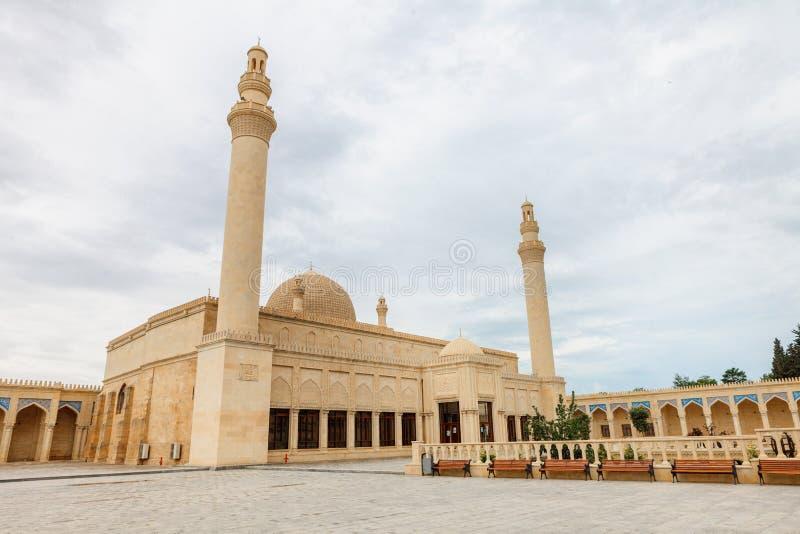 Juma Mosque, Samaxi Cume Mescidi, Shamakhi stock image