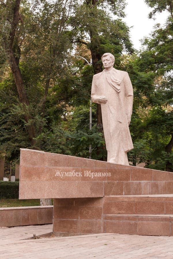Jumabek Ibraimov (1944-1999) obrazy stock