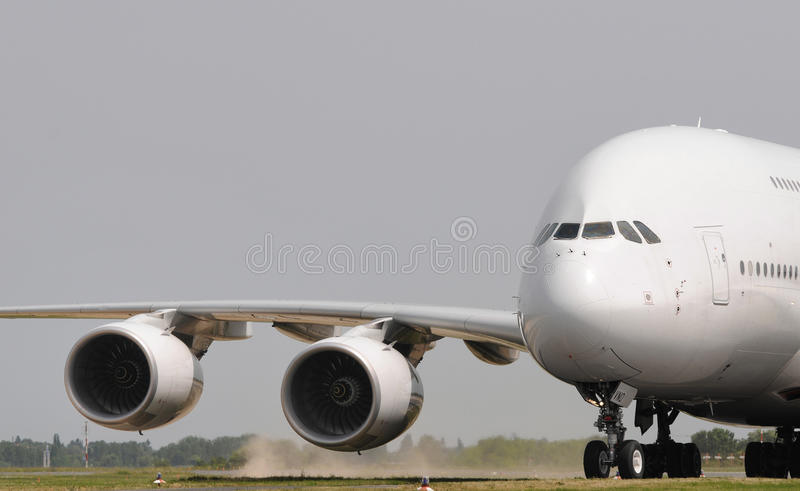 Download Jumbo jet taking off stock image. Image of airshow, germany - 17907871