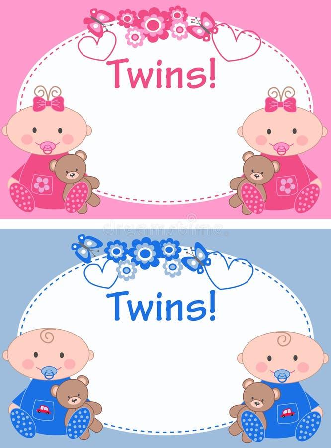 jumeaux illustration libre de droits