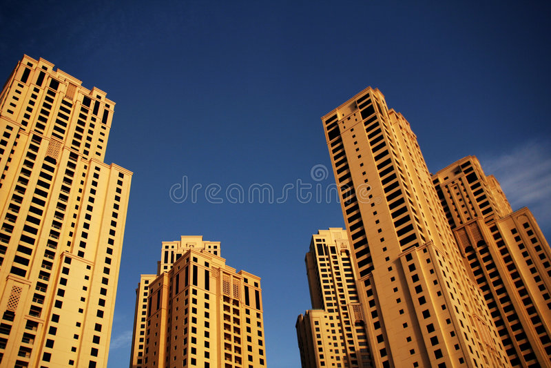 Jumeirah Beach Residence stock photography