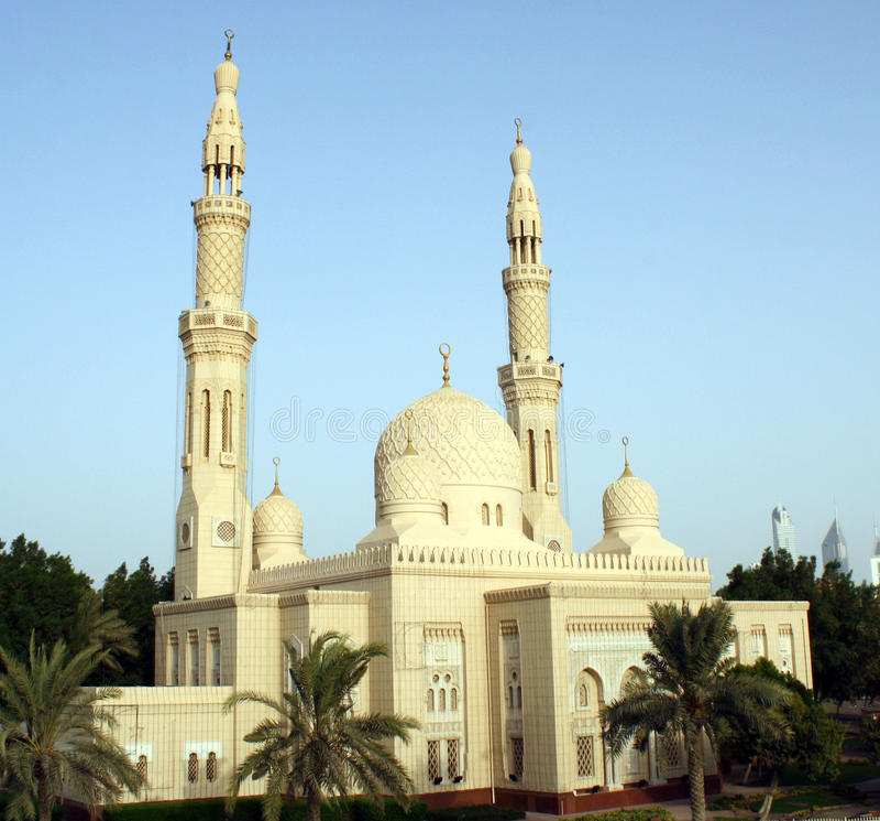 Jumeirah Moschee lizenzfreies stockbild