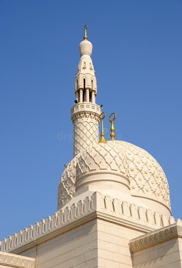 Jumeirah Moschee in Dubai stockbild