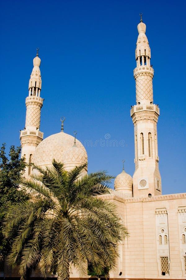 Jumeirah-Moschee in Dubai, UAE lizenzfreie stockfotografie