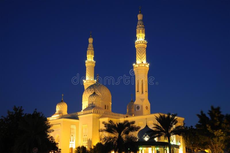Jumeirah Mosque in Dubai royalty free stock photos