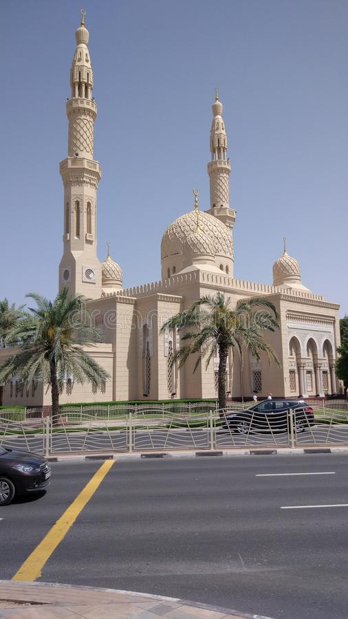Jumeirah Mosque stock photography