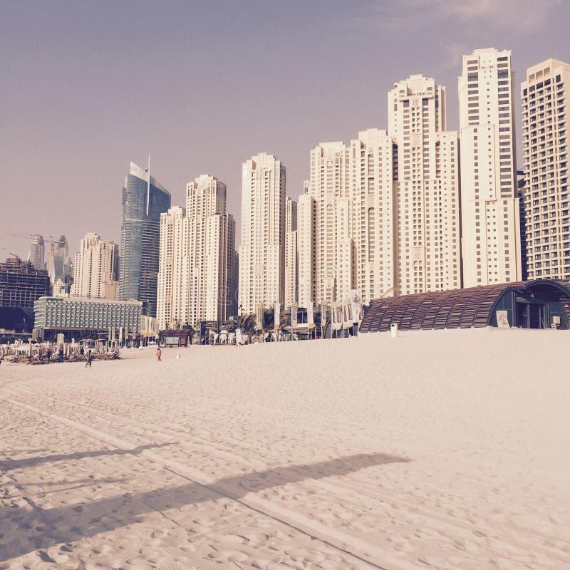 Jumeirah strand royaltyfri foto