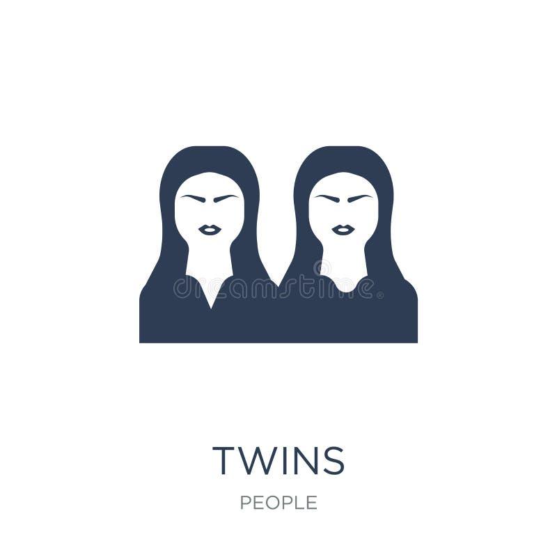 Jumelle l'icône  illustration libre de droits