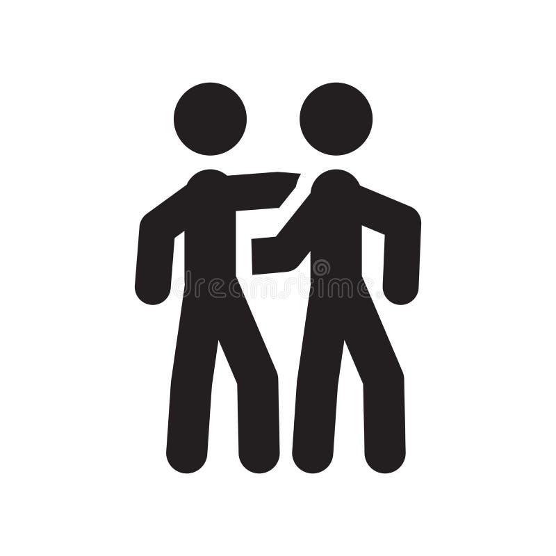 Jumelle l'icône  illustration de vecteur