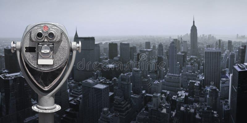 Jumelles à Manhattan images stock